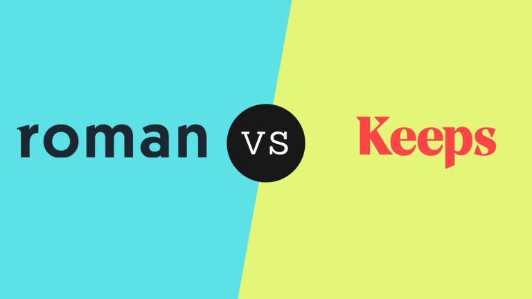 Roman vs Keeps | The Ultimate Comparison & Buying Guide for 2021