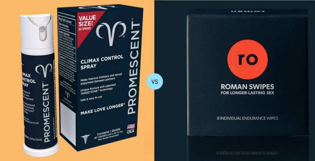 Promescent vs Roman Swipes Review