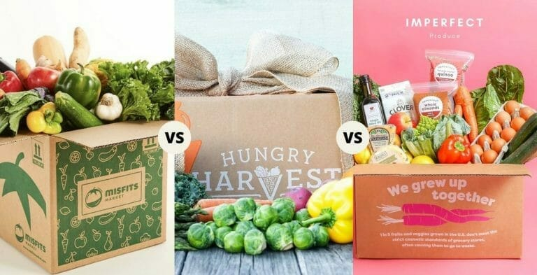 Misfits Markets vs. Hungry Harvest vs. Imperfect Produce    Detailed Comparision and Buying Guide for 2021