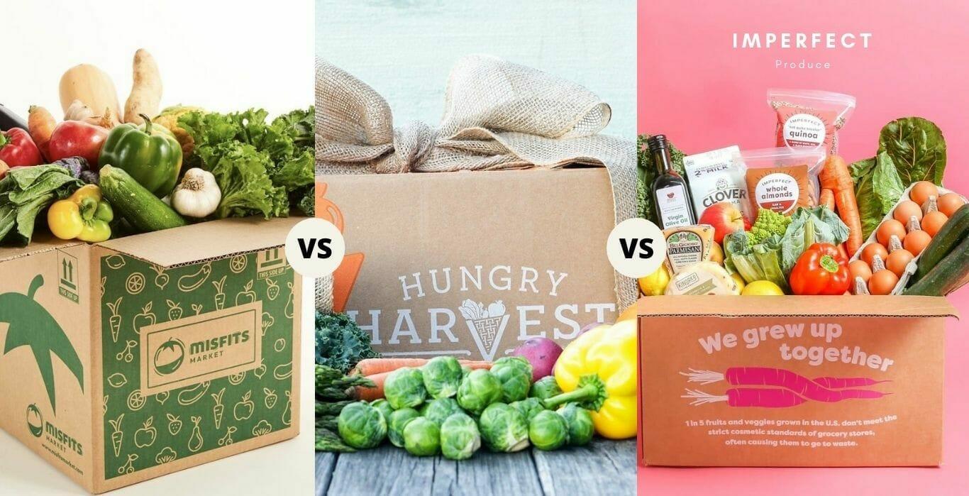 Misfits Markets vs. Hungry Harvest vs. Imperfect Produce