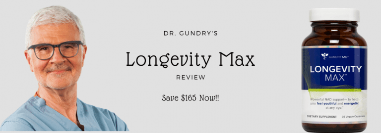 Longevity Max by Dr. Gundry Review {2021 Updated}