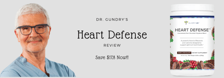 Heart Defense by Dr. Gundry | Review & Buying Guide {2021}