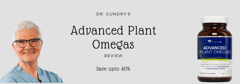 Advanced Plant Omegas by Dr. Gundry { 2021 Review}