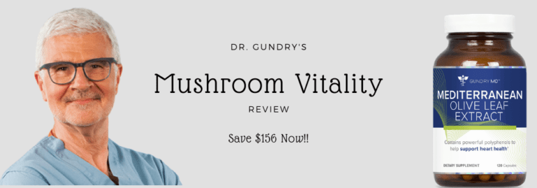 Mushroom Vitality by Dr. Gundry | Review & Buying Guide (Updated 2021)